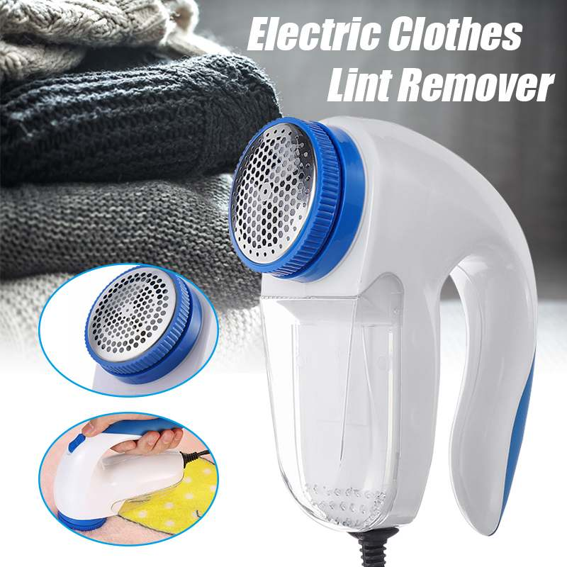 US Plug Electric Fabric Sweater Curtains Carpets Clothes Lint Remover Fuzz Pills Shaver Fluff Pellets Cut Machine