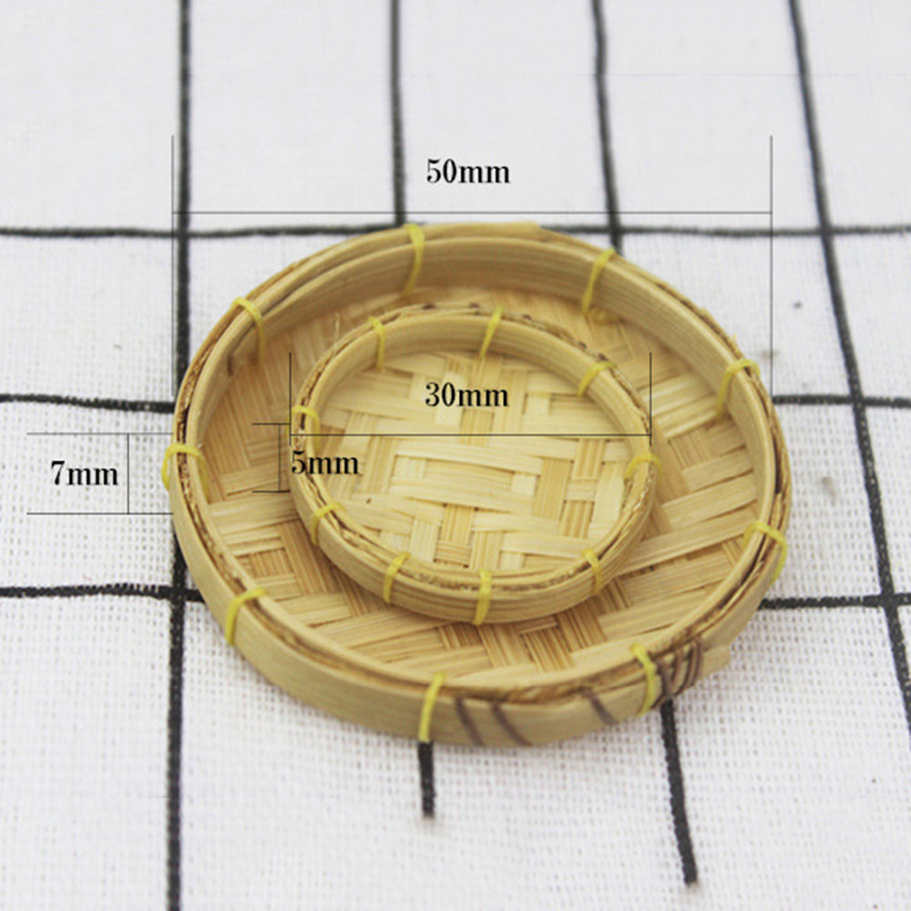 1:12 Scale  Metal Sieve Doll House Miniatures Accessories