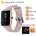 Nieuwe 2019 Amazfit Bip Lite Slimme Horloge Mannen Global Versie 45-Dag Batterij Leven 3ATM Water-weerstand Bluetooth smartwatch