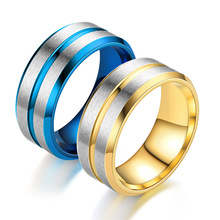 316L Stainless Steel Rings Simple Unisex Rings Fashion Titanium Steel Jewelry IP Plating High Polish Rings Fine Jewelry Gift mae rose gold color round thin titanium stainless steel rings for women simple style fashion jewelry weding rings