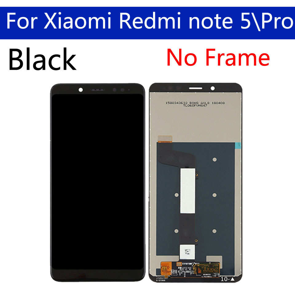 "Image 4 - 5.99"" Original For Xiaomi Redmi Note 5 LCD Screen Display With Frame + Touch Screen Panel Digitizer For Xiaomi Redmi Note 5 ProMobile Phone LCD Screens   -"