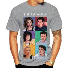 2020 новая футболка friends joey Рейчел Фиби Чандлер monica