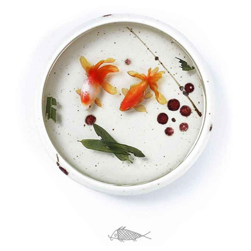 Resin Stiker DIY Kerajinan Ikan 3D Bahan Cetakan Dekorasi Perhiasan Mengisi Alat