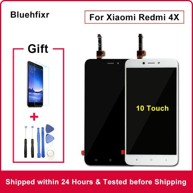 Оригинальный Для Xiaomi Redmi 4X ЖК дисплей Дисплей Сенсорный экран Тесты хорошее замены дигитайзер Ассамблеи для Xiaomi Redmi 4X Pro 5,0 дюйма