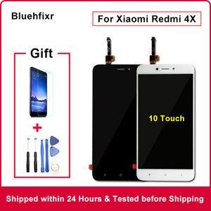 Image 1 - מקורי לxiaomi Redmi 4X LCD תצוגת מסך מגע מבחן טוב Digitizer עצרת החלפת לxiaomi Redmi 4X פרו 5.0 אינץ