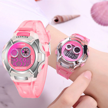 Factory Drop Shopping Kids Girls Watch Digital Led Children'