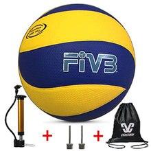 Фирменный волейбол, Pu волейбол официальный матч mva200, обучение в помещении, пляжный волейбол, Бесплатный воздушный насос+ Воздушная игла+ сумка