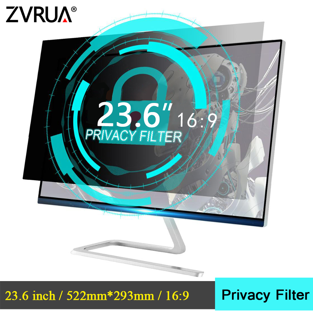 23.6 Inch (522mm*293mm) Privacy Filter Anti-Glare LCD Screen Protective Film For 16:9 Widescreen Computer Notebook PC Monitors