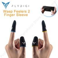 NEW Flydigi Feelers 2 Finger Sleeve Beehive 2 Sleep-proof Sweat-proof Games Thumbs Finger Sleeve for PUBG Mobile Finger Sleeve
