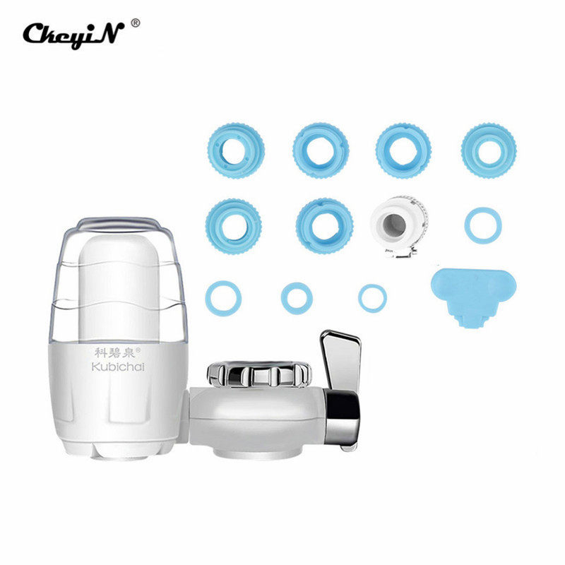 Home Tap Water Filter Active Carbon Water Cleaner Easy Installation Faucet Mount Water Purifier Washable Filtration Cartridge 31