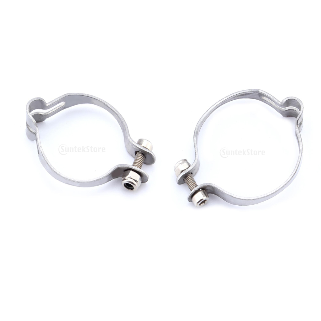 2Pcs Bike Bicycle Cable Tube Clamps 28.6mm Housing Hose Bicycle Accessories