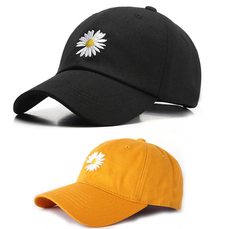 Doitbest Little Daisies Baseball Cap Hat For Boy Girl Spring Summer Embroidery Outdoor Children Kids Sports Caps Snapback