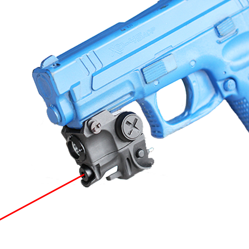 2 in 1 quick detachable gun pistol light pistol mounted red laser flashlight combo handgun laser light|Lasers|   - title=