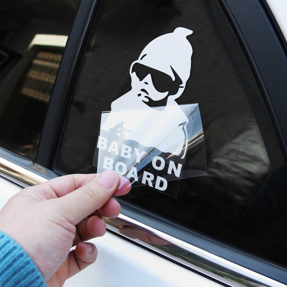 Dziecko na pokładzie kreatywny moda naklejki samochodowe dla Hyundai Creta Tucson BMW X5 E53 VW Golf 4 7 5 Tiguan Kia Rio Sportage R KX5