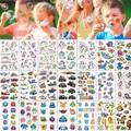 10 шт. штаны с фальш-вставкой, наклейки с героями мультфильмов временные тату для детей Дети руки рука