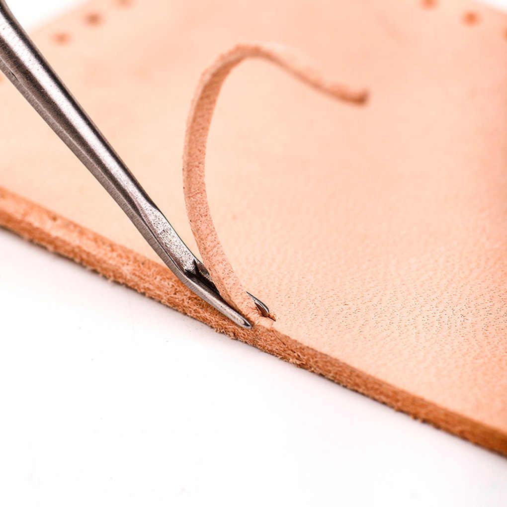 3 sztuk DIY szycia ręcznego U + V w kształcie Groover Skiving Edge Beveler zestaw narzędzi skóra Craft Making Kit