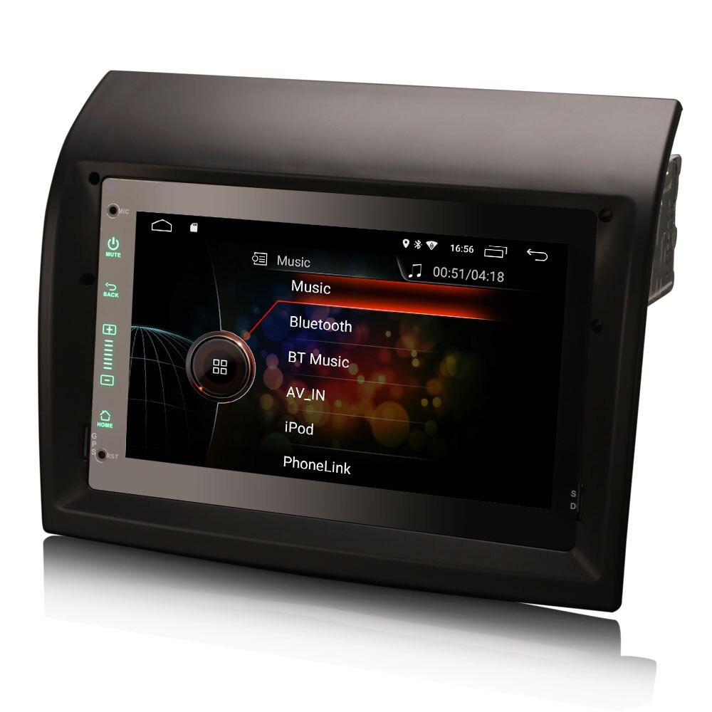 """7 """"Android 10.0 os Car Multimedia Sistema de Navegação GPS Radio Player para Peugeot Boxer 2011-2015 com Divisão suporte de tela"""
