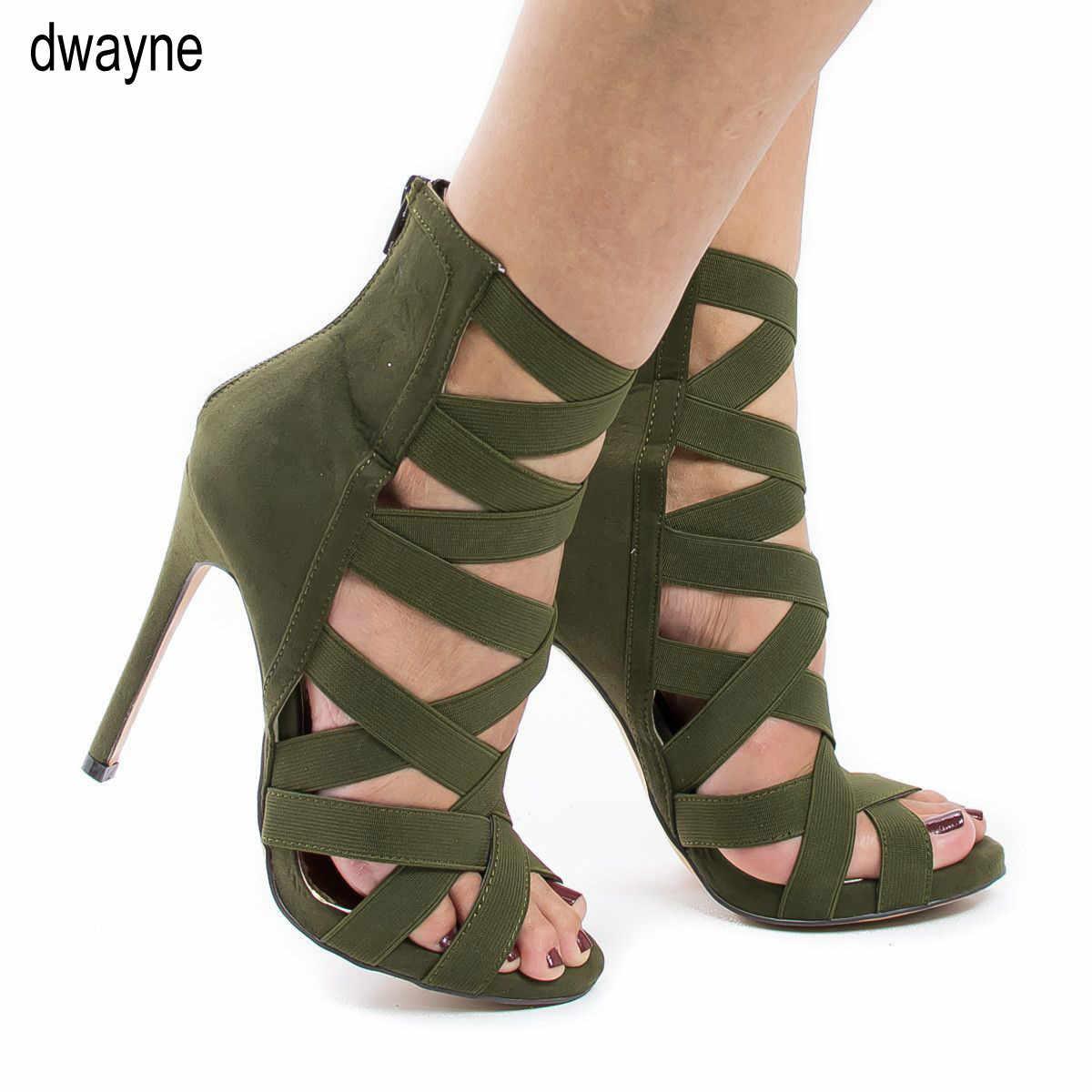 Kadın topuklu sandalet sıkı bandaj ayak bileği kayışı pompaları süper yüksek topuklu stiletto topuklu bayan ayakkabıları 2020