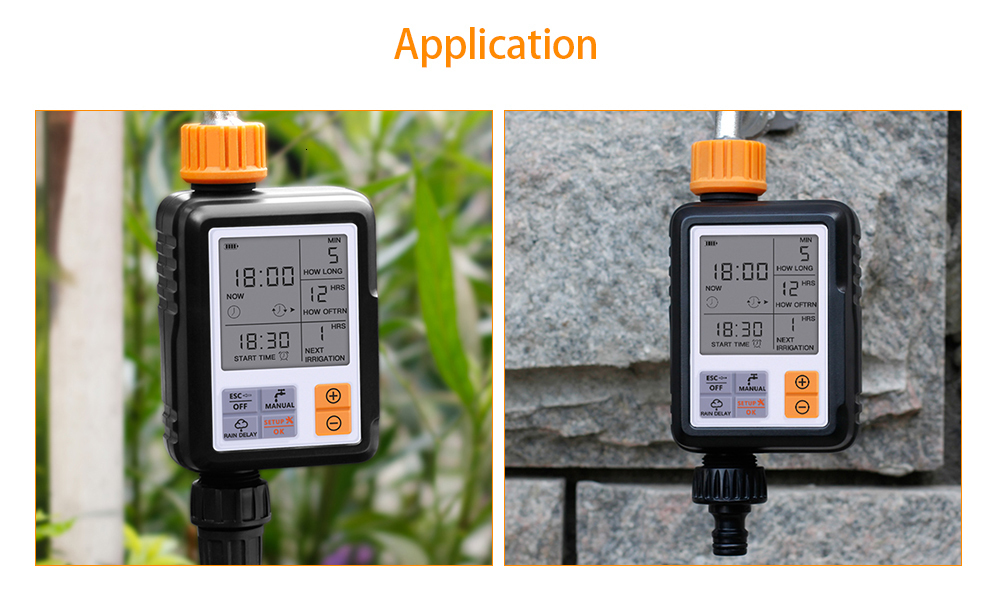 Automatic Electronic Garden Water Timers With Lcd Screen Sprinkler Controller For Outdoor Garden 9