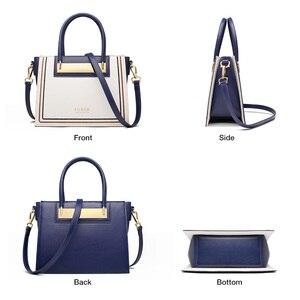 Image 3 - FOXER Rindsleder Leder Büro Dame Chic Geldbörse Luxus Messenger Taschen für Mode Weibliche Hohe Kapazität Frauen Handtasche Elegante Totes