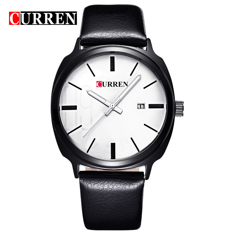 Curren/Karui En 8212 Unisex Waterproof Calendar Quartz Watch Casual Business MEN'S Watch
