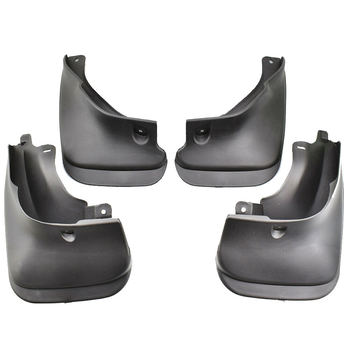 4x Black Fender Flares Flexible Durable Fender Kit Car Body Wheel Eyebrow Fender For Toyota Corolla Sedan 1993-1998 E100 AE100 image