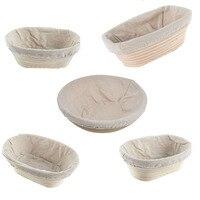 Различные способы ферментации плетеная корзина страна для багетов Массовая дегустация корзины Banneton Brotform