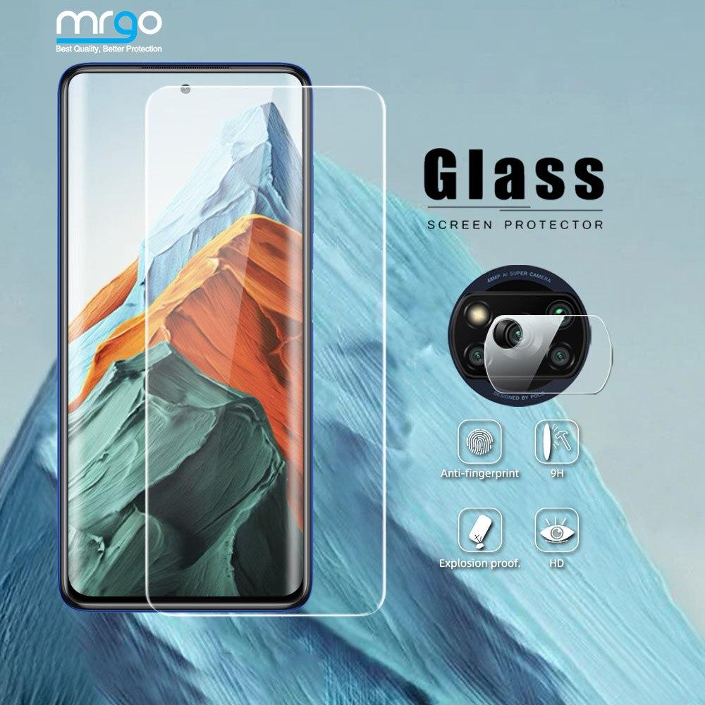 Закаленное стекло для Poco X3 Pro F3 M3 Для Xiaomi Poco X3 NFC стекло 3X M3 on Poco F3 смартфон Pocophone F1 F2 Pro стекло M2 X2 C3