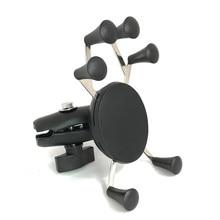 Jadkinsta motosiklet çift soket kolu tutucu kiti Webgrip montaj 1 inç Ballhead Gopro Mounts akıllı telefonlar
