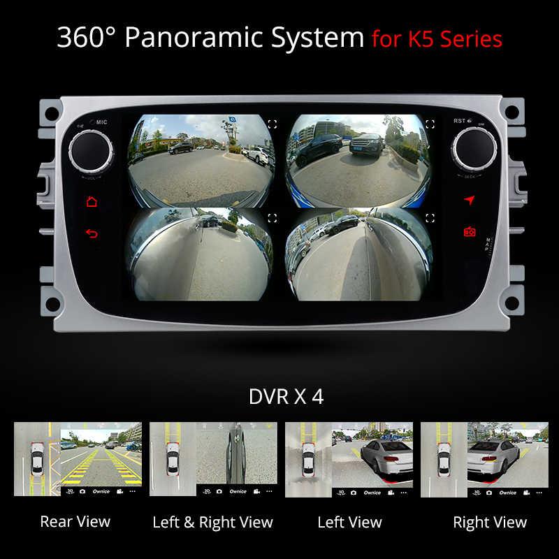 [Installation Service Free] Ownice K1 Android  reproductor de DVD del coche 2 din Radio Car GPS Navi para Ford Focus 2 Mondeo Kuga C-MAX S-MAX Galaxy con de Audio estéreo unidad de cabeza hands free bluetooth for cars