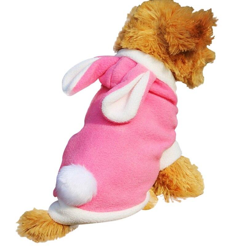 Hoomall Милая Одежда для собак с рисунком Кролика модные весенние толстовки Одежда для маленьких собак ягненка меховые аксессуары для домашних животных, собак