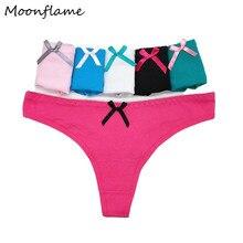 5 pcs/lots G String Sexy Women Cotton Thong Underwear M L XL 87295