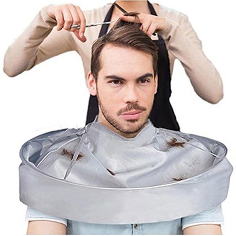 Adult Hair Cutting Umbrella Cape DIY Hair Cutting Apron Salon Barber Home Stylists Hair Cutting Coat Cloak Barber Hair Accessory