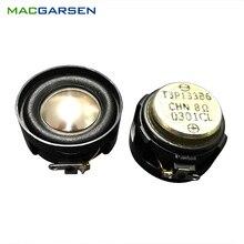 2 pces alto falante gama completa chifre 30mm de alta fidelidade áudio soundbar música alto falante unidade 8ohm 5w para portátil bluetooth alto falante