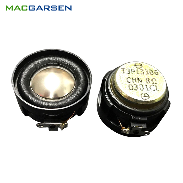 2PCS Full Range Speaker Horn 30mm HIFI Audio Soundbar Music Speakers Unit 8ohm 5W Loudspeaker for Portable Bluetooth Speaker