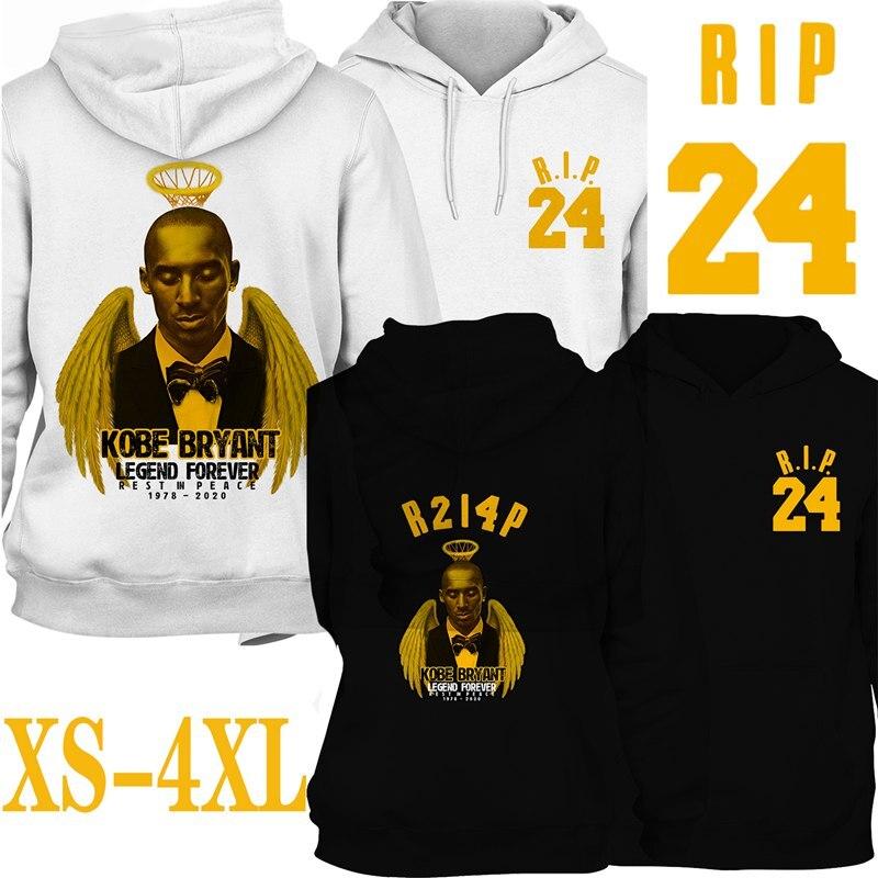 Black Mamba Rip Kobe Bryant 1978 2020 Hoodie High Quality Long Sleeve Sweatshirt