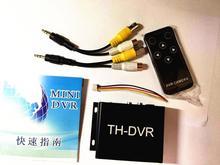 NEW TH-DVR C-DVR Dual Card FPV Mini DVR Digital Video Audio Recorder supports 1080P 720 HD AHD/TVI/CVI with romote control sd dvr high resolution digital video recorder for fpv system