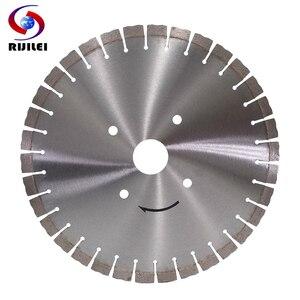 Image 1 - RIJILEI 350 мм Алмазное пильное полотно для гранит, мрамор, камень профессиональный резак лезвие для резки бетона круговые режущие инструменты