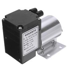 1 Pc Elektrische Mini Vacuüm Luchtpomp Hoge Druk Zuigkracht Membraanpompen 5L/Min 80kpa Dc 12V Met houder Voor Chemische Industrie