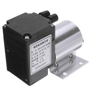 1pc électrique Mini pompe à Air sous vide haute pression aspiration diaphragme pompes 5L/min 80kpa DC 12V avec support pour l'industrie chimique