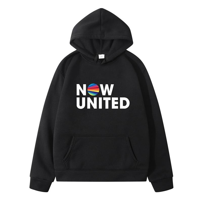 Now United - Better Album Hoodie Sweatshirts Men Women Better Now United Lyrics Pullover Unisex Harajuku Tracksui sweatshirt