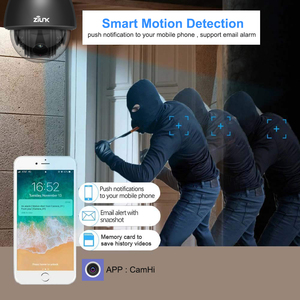 Image 4 - 1080P מלא HD PTZ מהירות כיפת IP מצלמה 5x זום חיצוני עמיד למים CCTV WiFi מצלמה מיני זיהוי תנועת ONVIF h.264