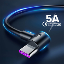 5A USB Type C Cable 1m 1.5m 2m 3m Fast C