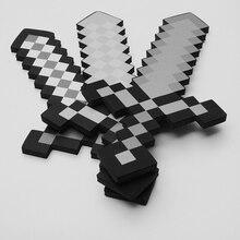 Toys Model Sword Action-Figures Foam Kids Diamond EVA Pickax for Brinquedos Gift Axe-Shovel