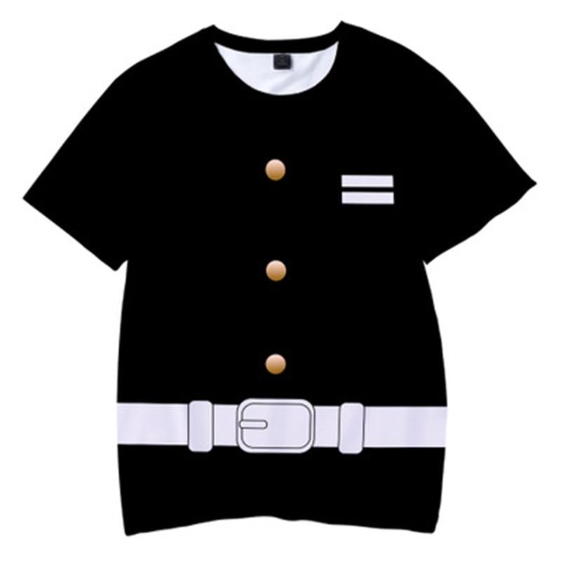 H7a268835c44545f2a7adb3fbb949c599t Kids Boys Devils killer T-shirts 3d Print Cosplay Japanese Ghost blade Children Summer Short Sleeve Tshirts Demon Slayer Clothes