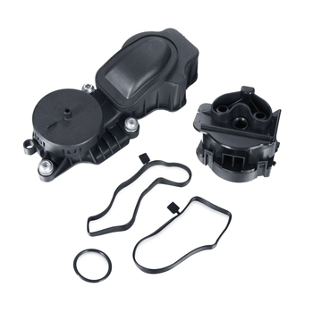 Kit de reparación de la válvula de escape del cigüeñal, separador de la válvula de respiración de aceite del cárter para Bmw E46 E60 11127799225