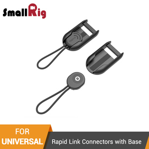 SmallRig Video Shooting Camera Shoulder Strap Rapid Link Connectors with Base For SmallRig Dslr Camera Shoulder Strap 2428- 2421(China)