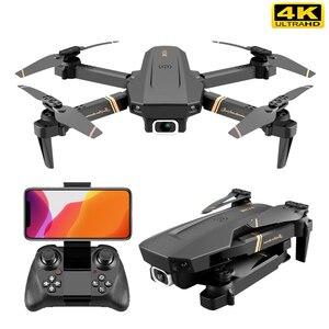 Image 5 - V4 Rc Drone 4k HD telecamera grandangolare 1080P WiFi fpv Drone doppia fotocamera Quadcopter trasmissione in tempo reale giocattoli per elicotteri
