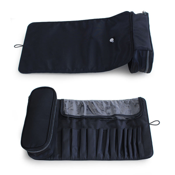 functional Cosmetics Case Makeup Brushes Bag Travel Organizer For Make Up Brushes Protector Coffin  Makeup Tools Rolling Pouch 3