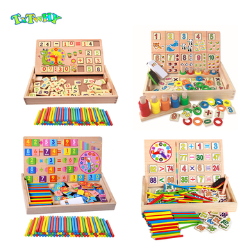 Montessori Wooden Math Kids Toys For Children Preschool montessori materials sensory toys educational wooden gift